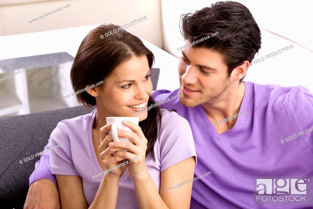Stock Photo: Young couple.