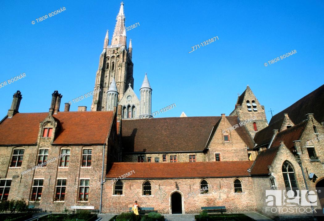 Stock Photo: Belgium, Bruges, Church of Our Lady, Memling Museum.