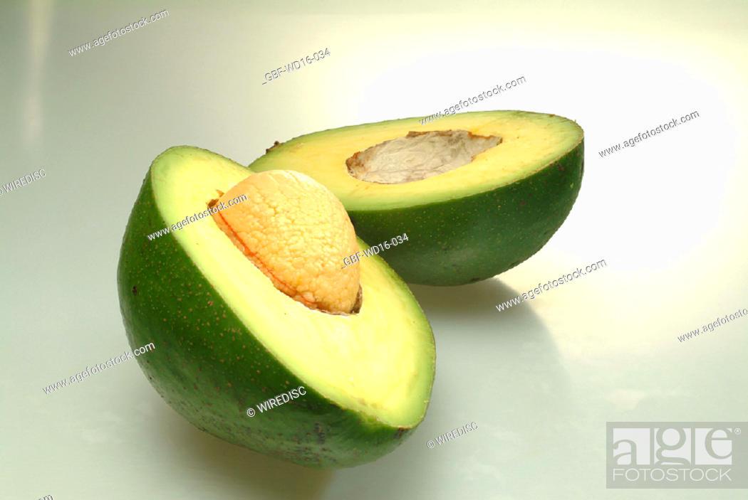 Stock Photo: Food, fruit, avocado.