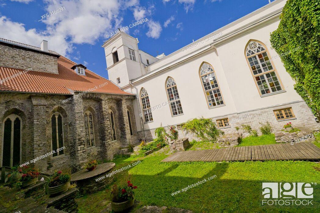 Imagen: Saint Catherine's Monastery, Dominican Monastery, Old Town, Tallinn, Estonia, Europe.