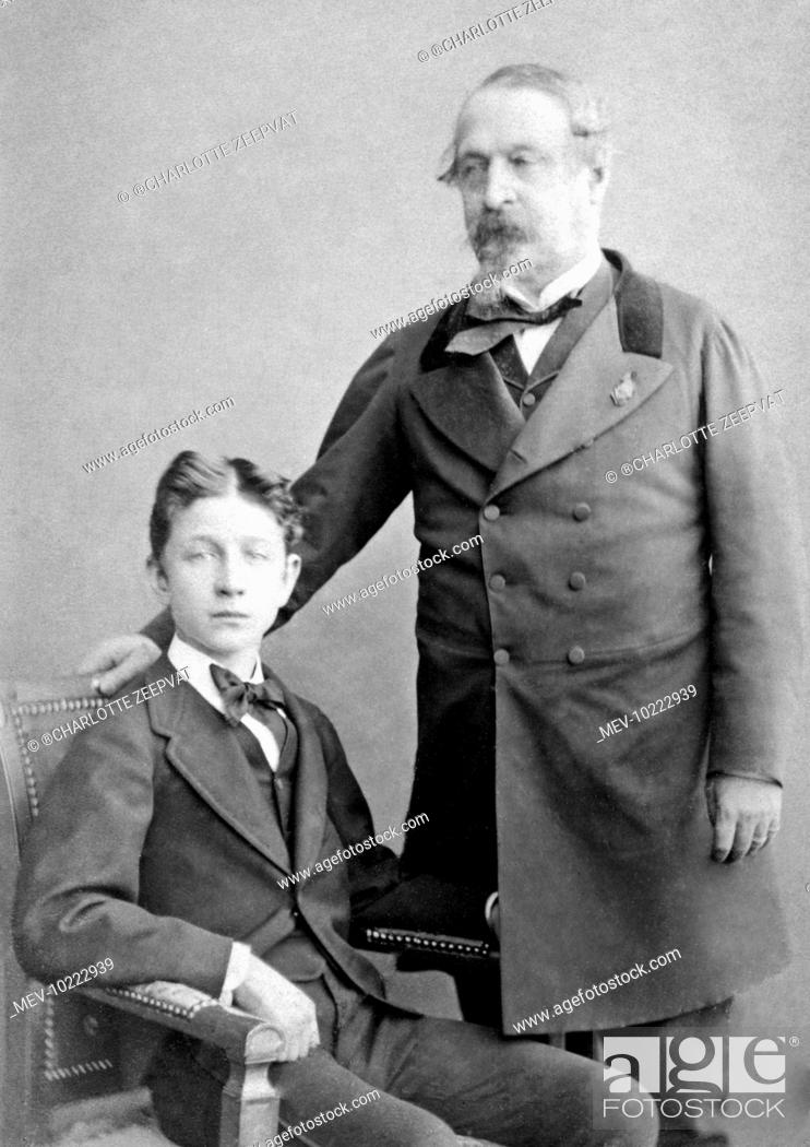 Photograph of Louis, the Prince Imperial (1856-1871)(seated