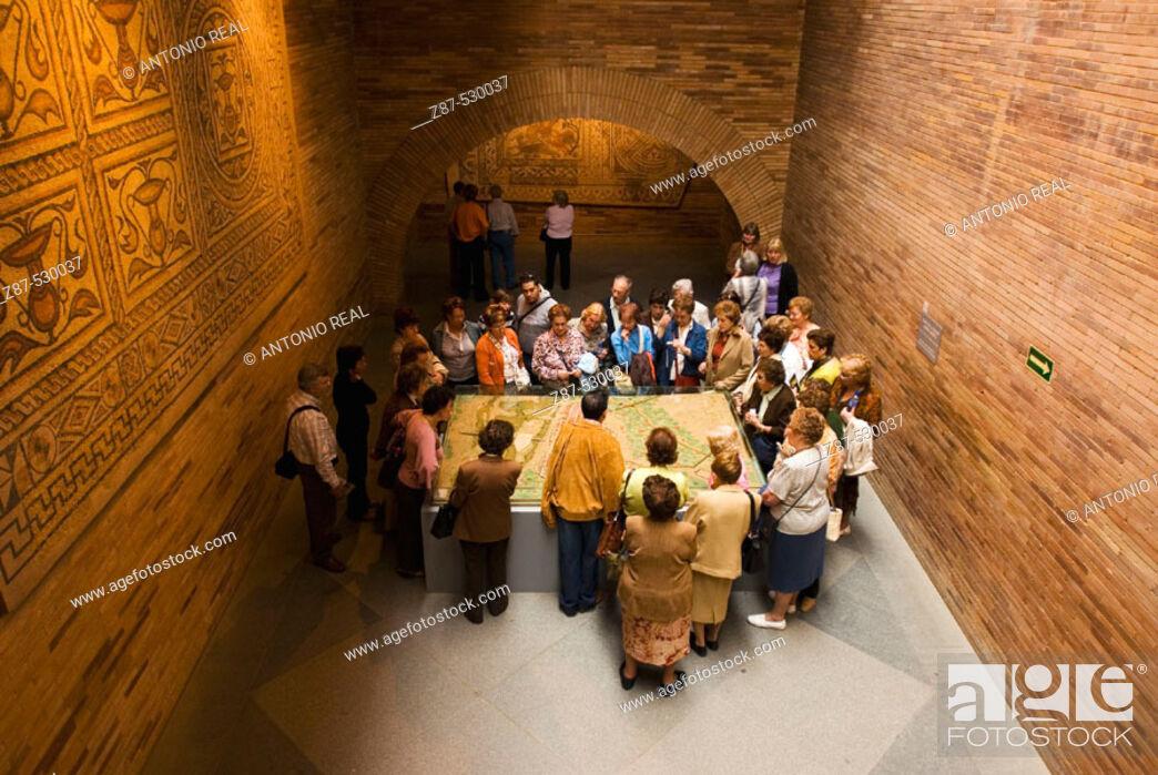 Stock Photo: Museo Nacional de Arte Romano. Mérida. Badajoz province. Extremadura. Ruta de la Plata. Spain.