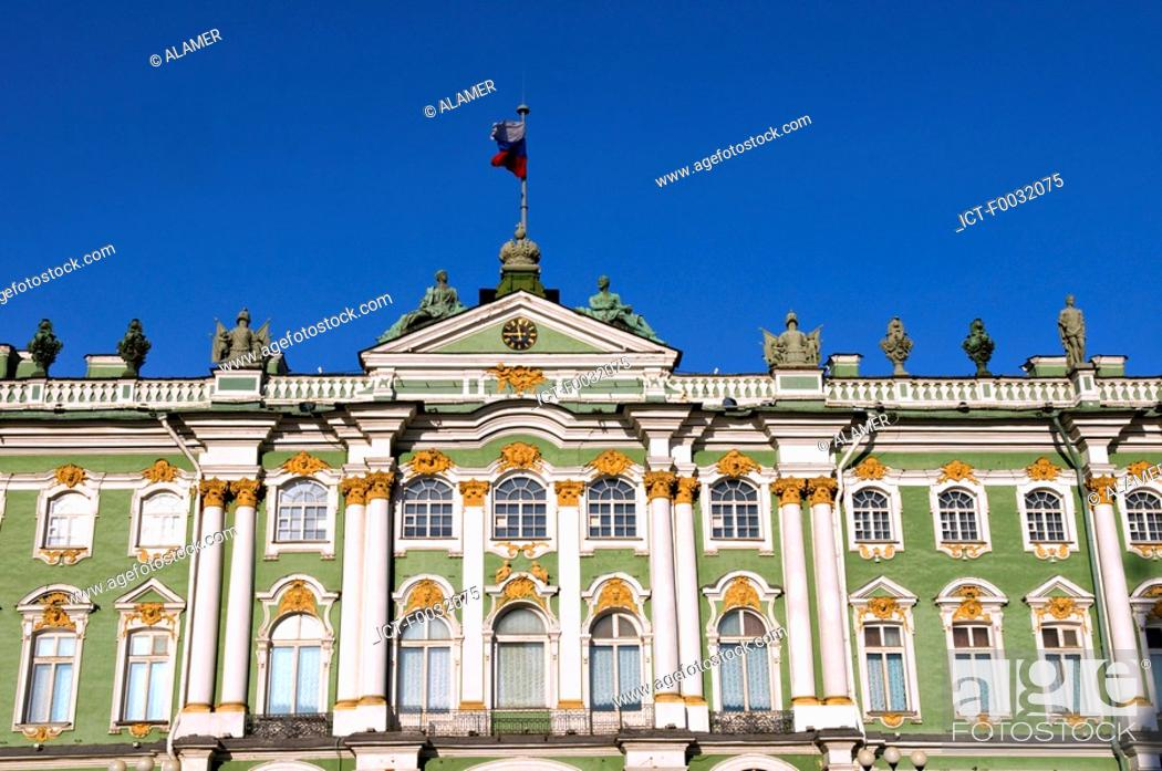 Stock Photo: Russia, St Petersburg, winter palace.