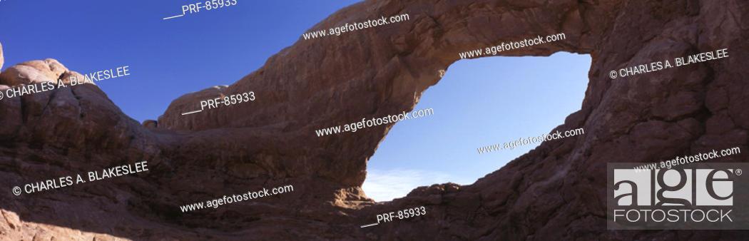 Stock Photo: Arches National Park UT.