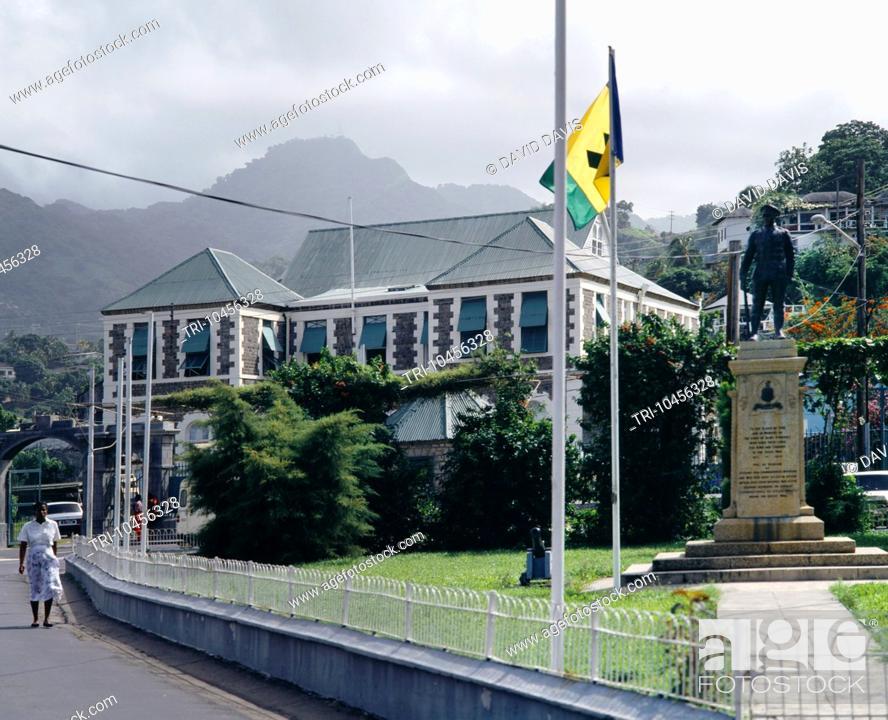 Kingstown St Vincent Parliament & Court House Building St