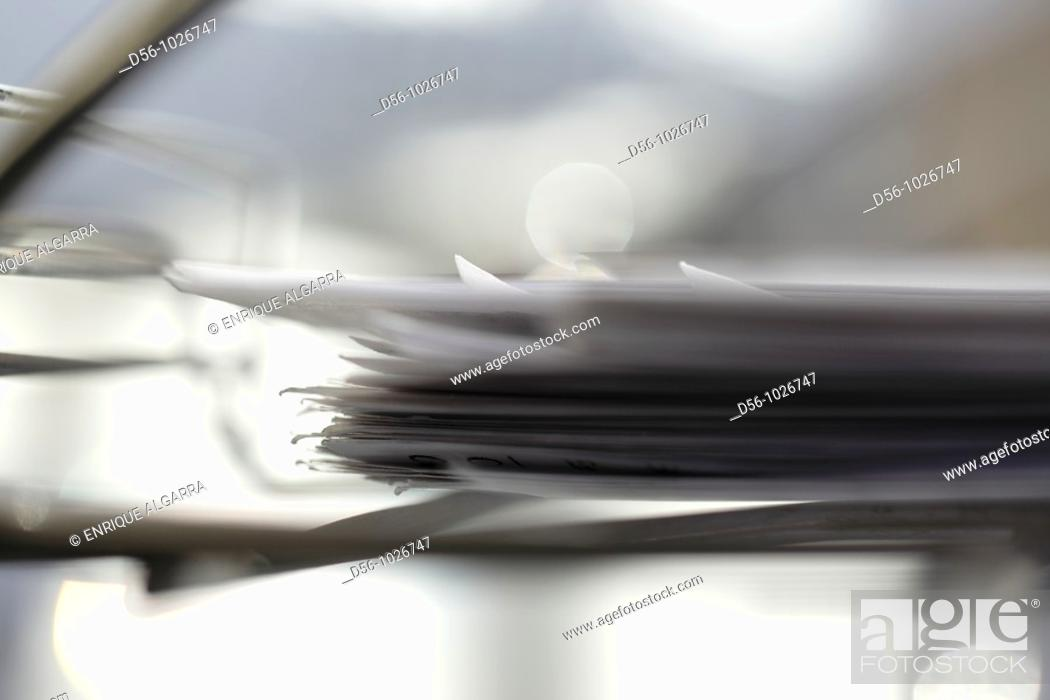 Stock Photo: Papers.