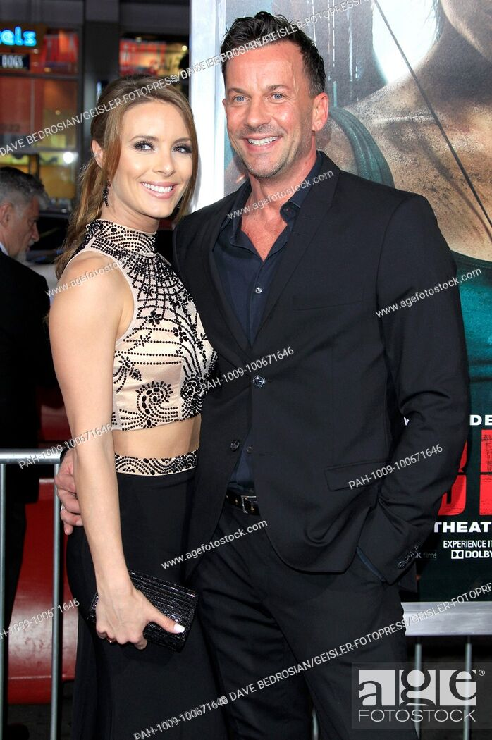 Amy Pemberton and Craig Parker attend the 'Tomb Raider