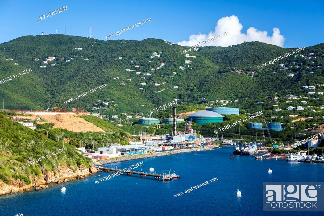 Imagen: The Crown Point marina a cruise ship dock at Charlotte Amalie, St. Thomas, US Virgin Islands, Caribbean.