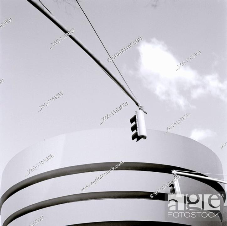 Stock Photo: Guggenheim Museum, New York, USA.