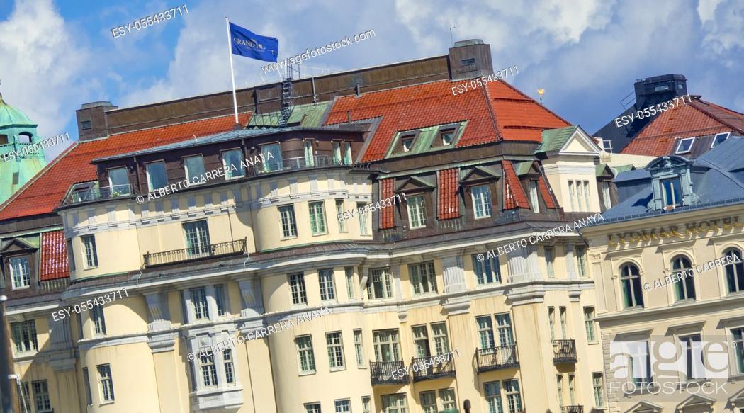 Imagen: Traditional architecture, Gamla Stan, Stockholm, Sweden, Scandinavia, Europe.