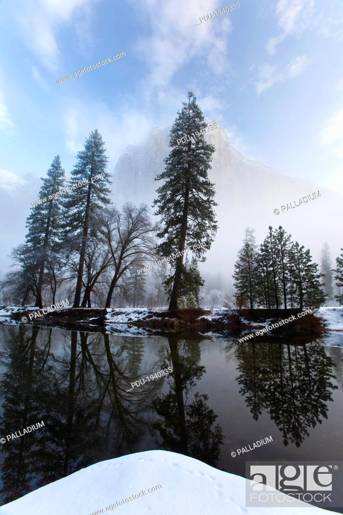 Stock Photo: Yosemite National Park, California.