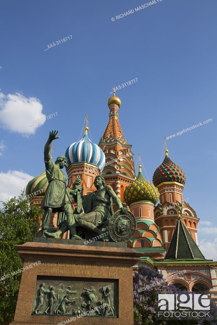 Imagen: St Basil's Cathedral, Red Square, UNESCO World Heritage Site, Moscow, Russia.