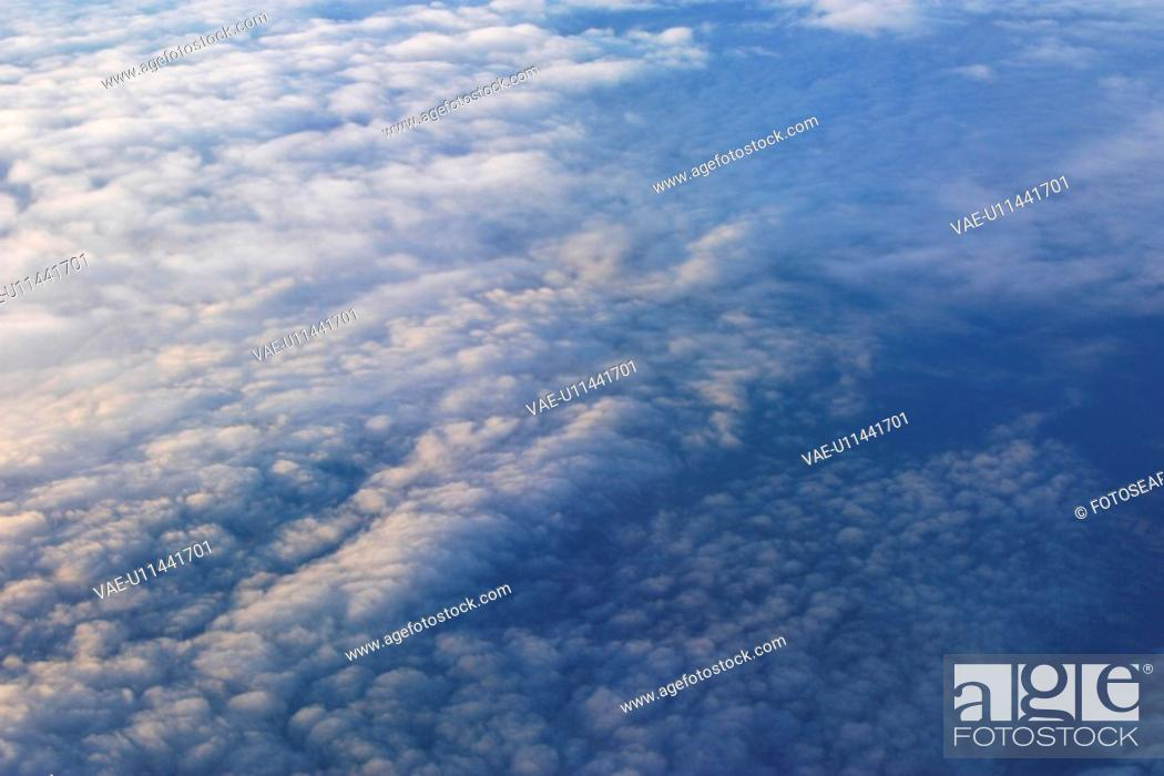 Stock Photo: clouds, bright, cloud formation, climate, celestial body, atmosphere.