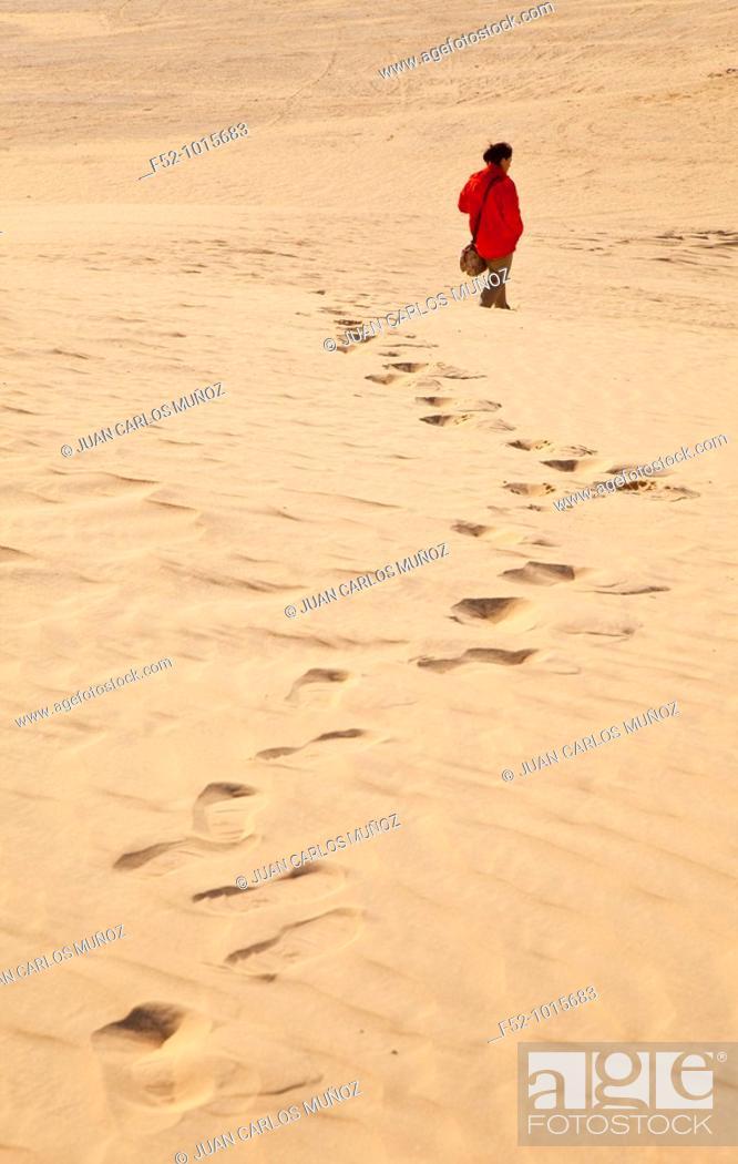 Stock Photo: Salt Lake or 'Chott' Ell Yerid. Nefta. Desert of Southern Tunisia. Tunez. Africa.