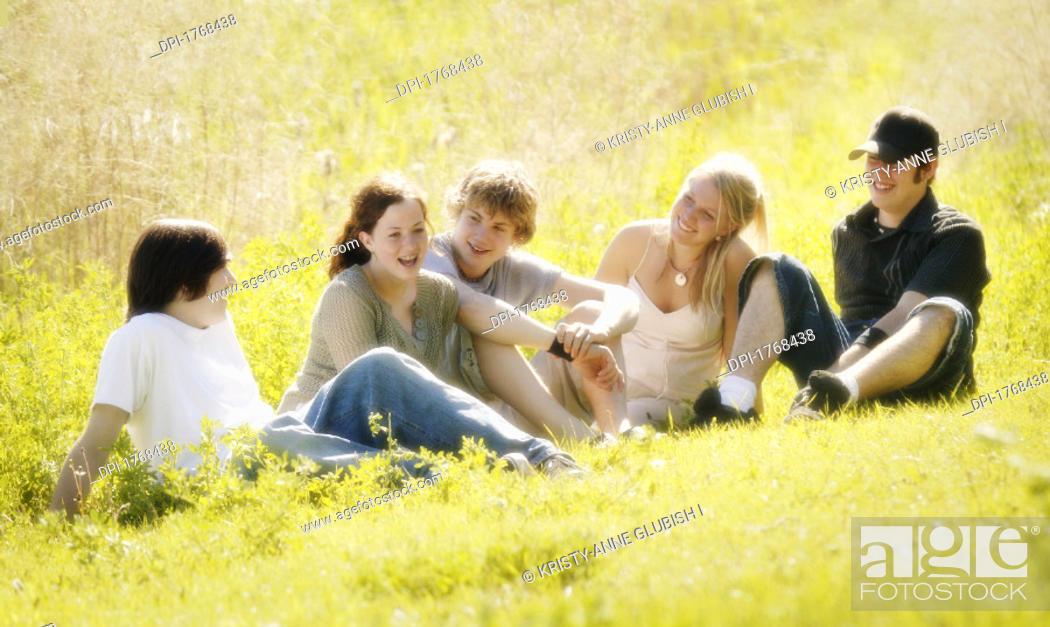 Stock Photo: People-Teenagers.