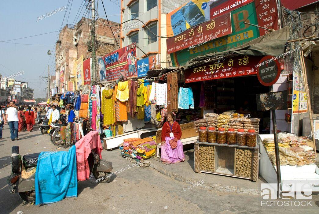Stock Photo: India, Punjab, Amritsar.