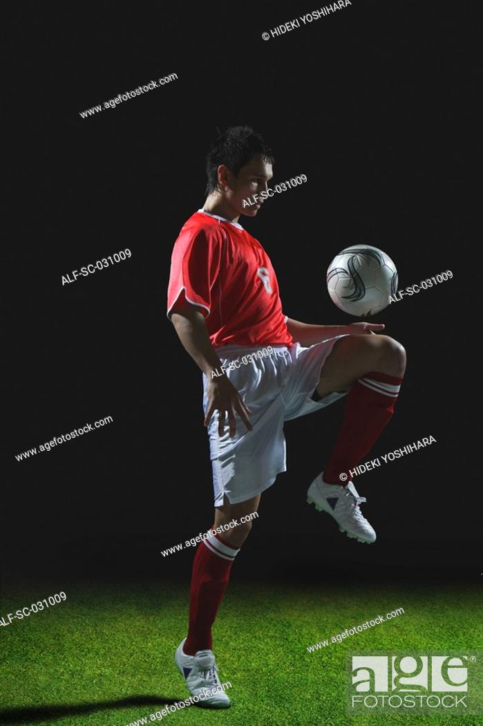 Stock Photo: Soccer Player.