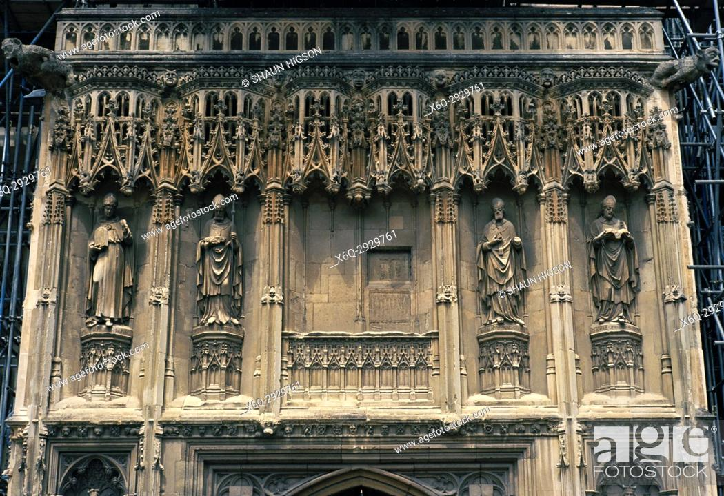 Imagen: Canterbury Cathedral in City of Canterbury in Kent in England in Great Britain in the United Kingdom UK Europe.