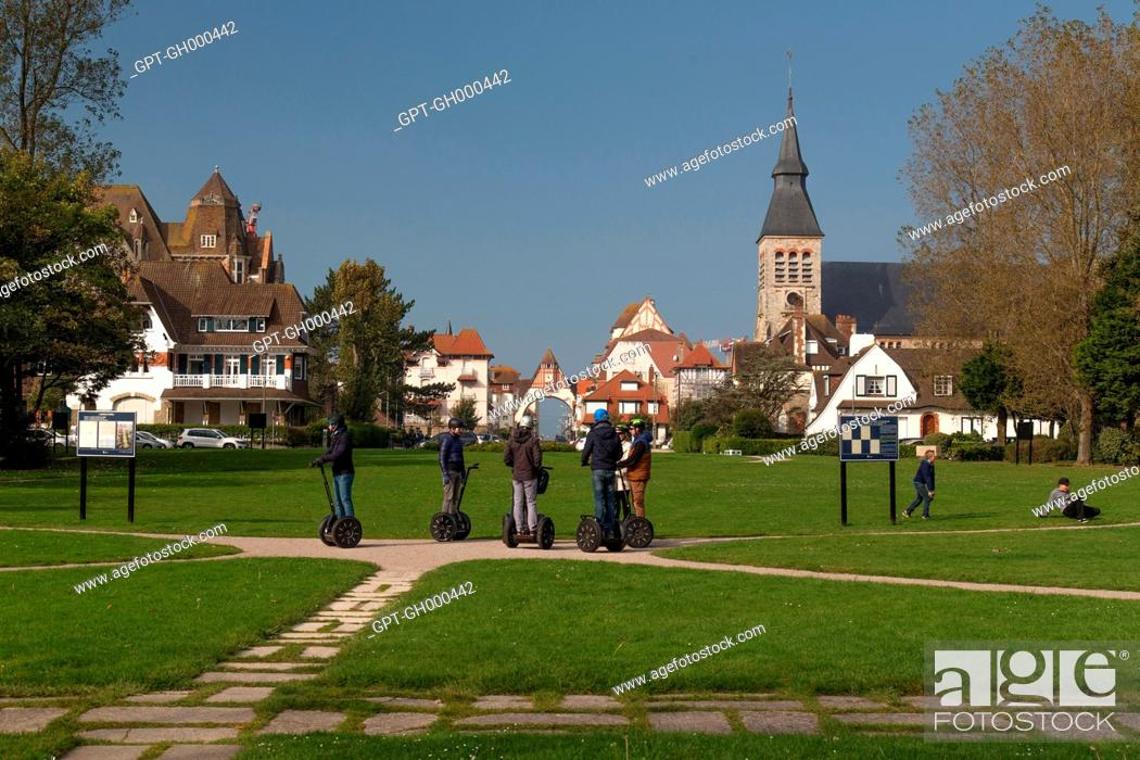 RIDE ON A PERSONAL TRANSPORTER IN THE YPRES GARDEN IN FRONT OF THE ...
