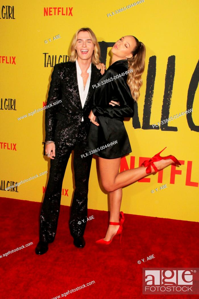 """Stock Photo: Luke Eisner, Ava Michelle 09/09/2019 The Los Angeles Special Screening of """"""""Tall Girl"""""""" held at the Netflix in Los Angeles, CA Photo by Y."""