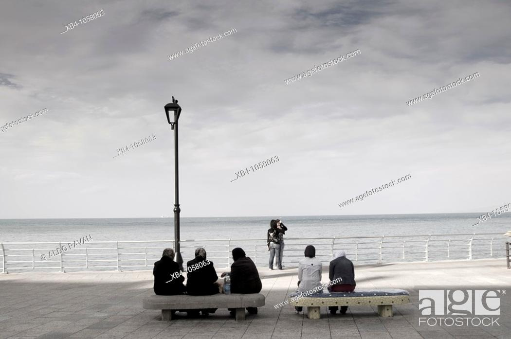 Stock Photo: Corniche Beirut, Beirut, Lebanon.
