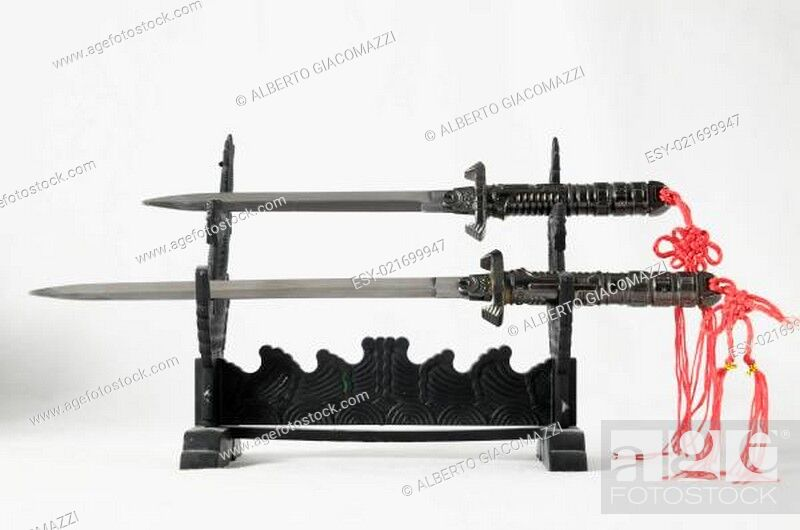 Stock Photo: Katana Sword Japanese.