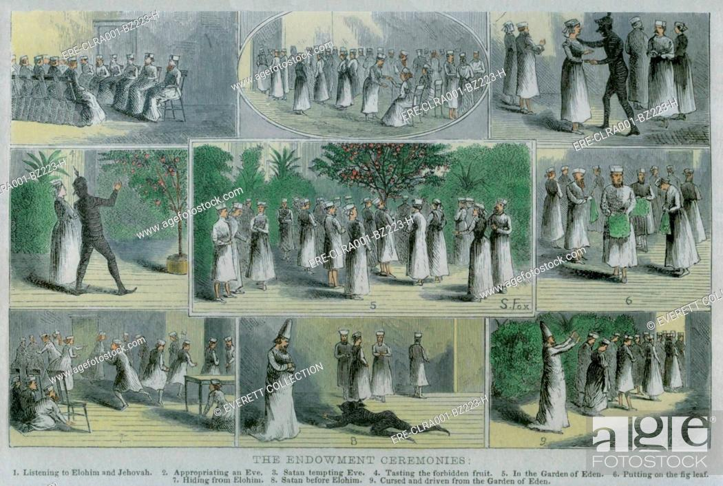 Endowment ceremonies were influenced by Masonic rituals to