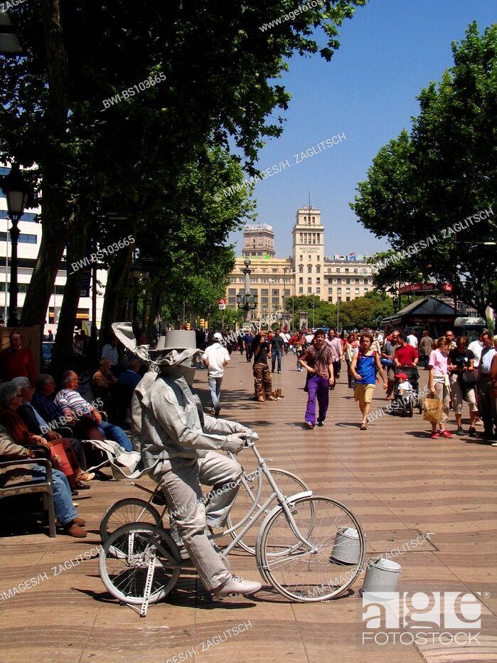Imagen: La Rambla, Spain, Barcelona.