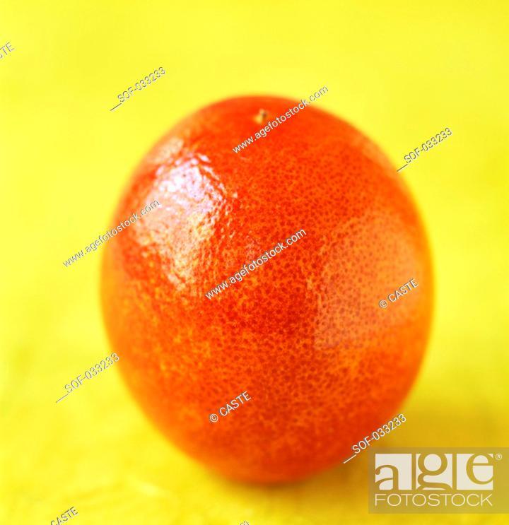 Stock Photo: blood orange.