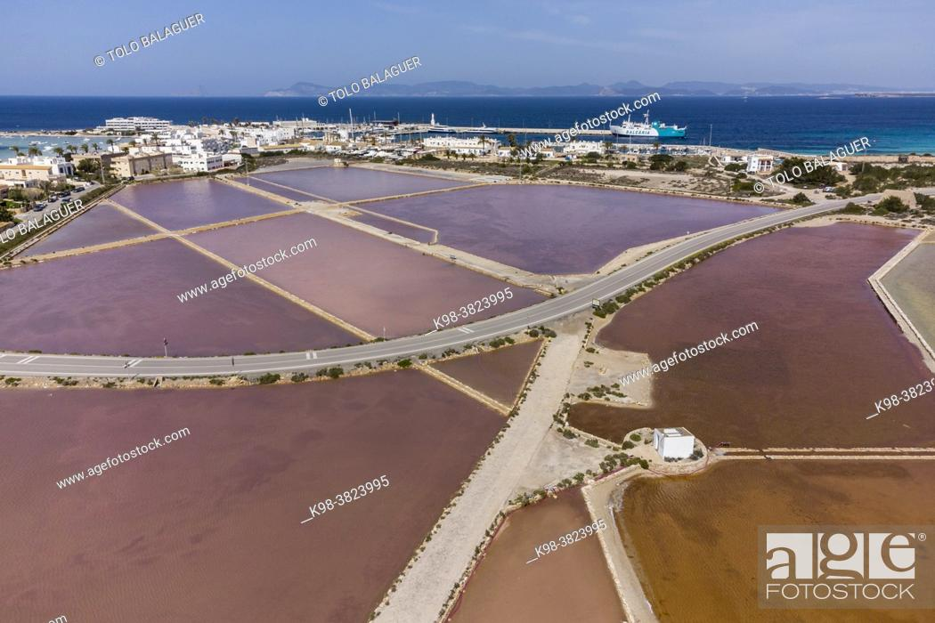 Stock Photo: La Savina, Formentera, Pitiusas Islands, Balearic Community, Spain.