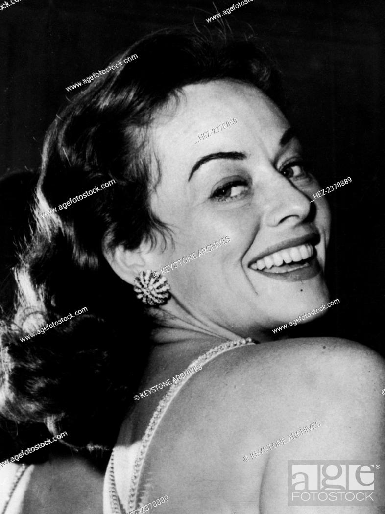 Stock Photo Paulette Goddard American Actress And Film Star C Late 1950s