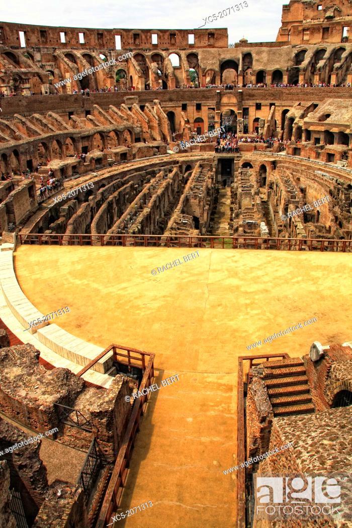 Stock Photo: Coliseum, Rome, Italy.
