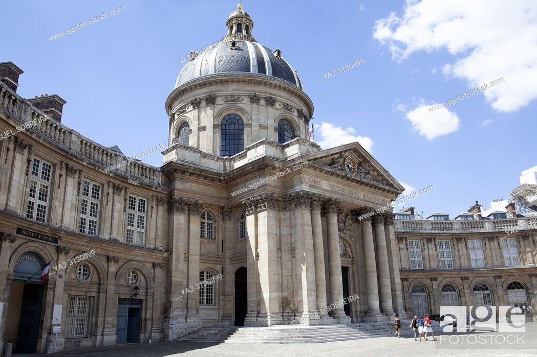 Stock Photo: Institut De France in Paris - France.