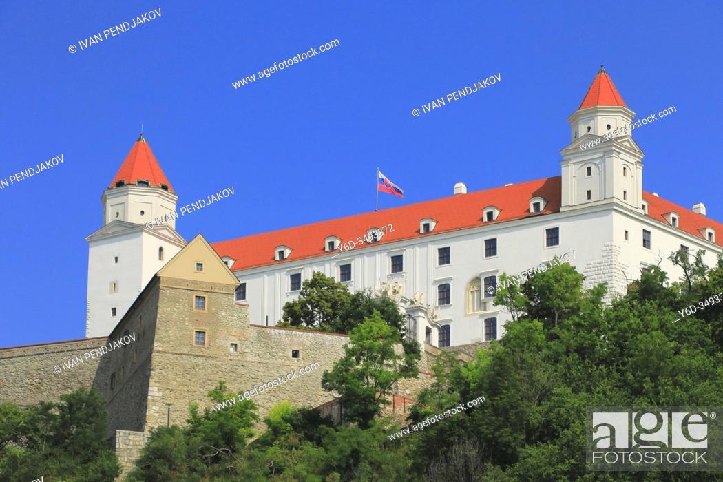 Imagen: Bratislava Castle, Slovakia.