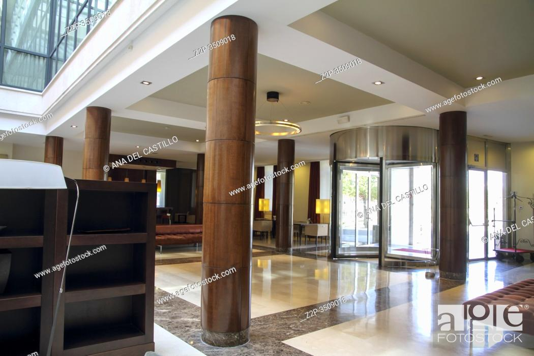 Stock Photo: Aranjuez Madrid Spain on November 2, 2014: Interior of the NH Collection hotel Aranjuez palace.
