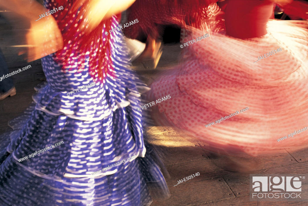 Stock Photo: Feria del Caballo, Jerez de la Frontera, Andalucia, Spain.