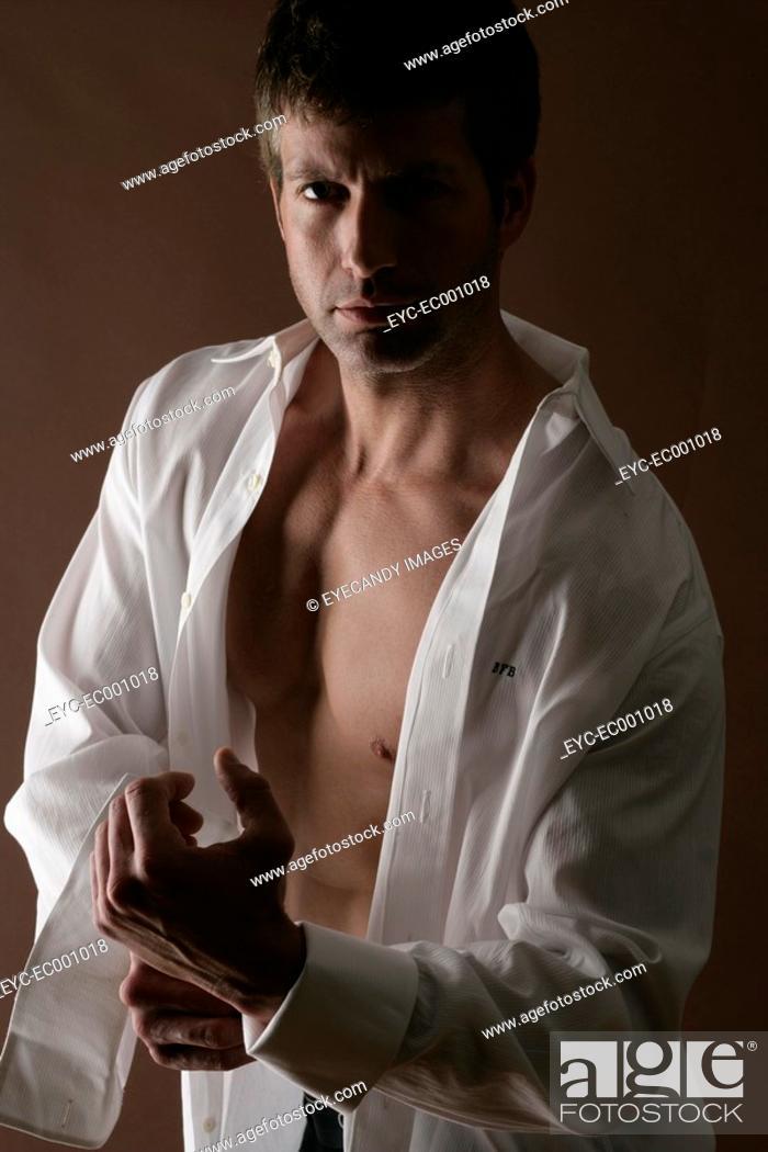 Stock Photo: Portrait of a man.