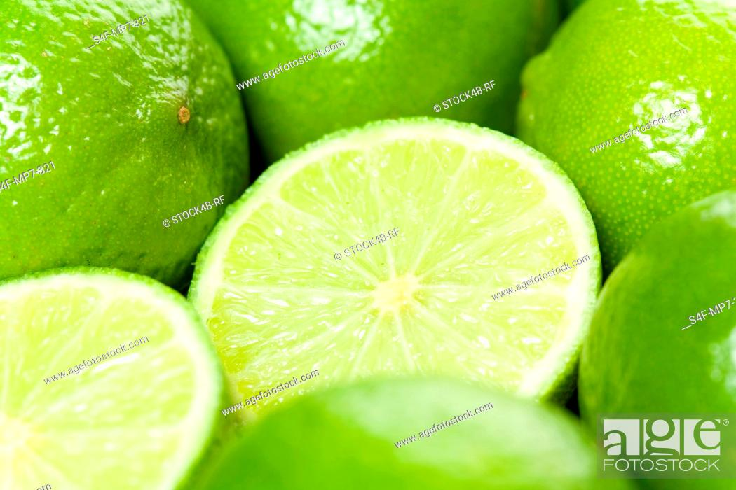 Stock Photo: Detail of limes.
