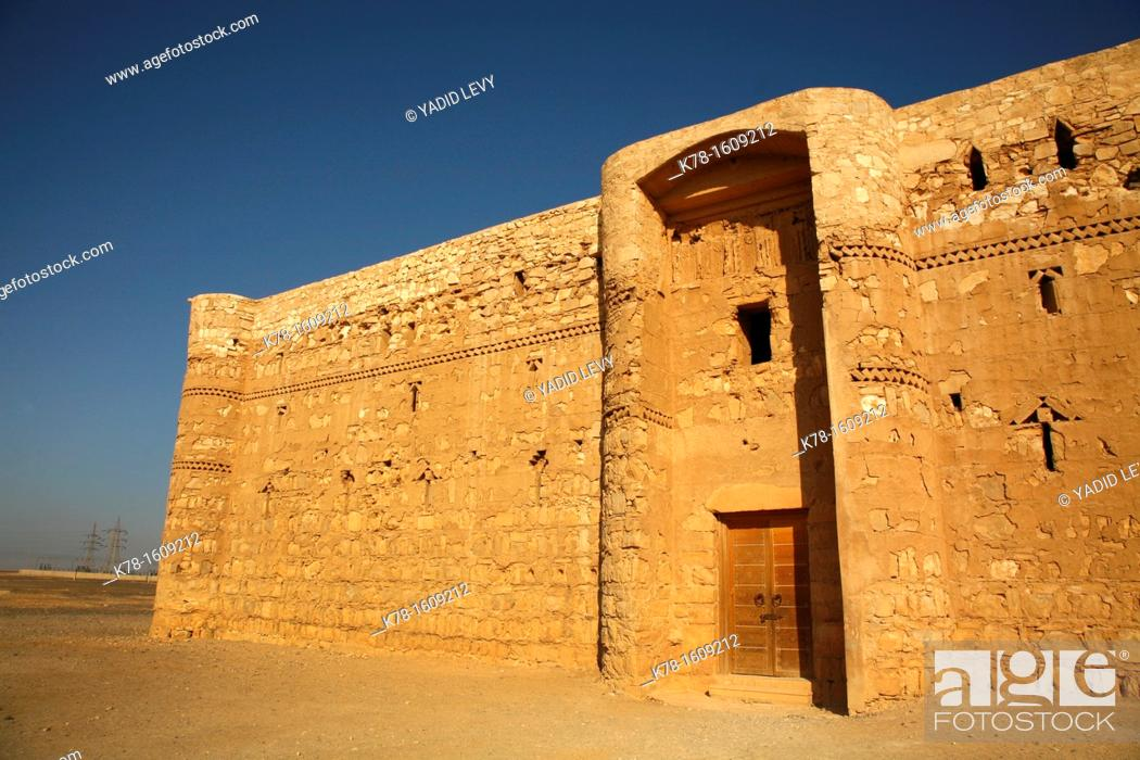 Stock Photo: Qasr Kharana desert castle, Jordan.