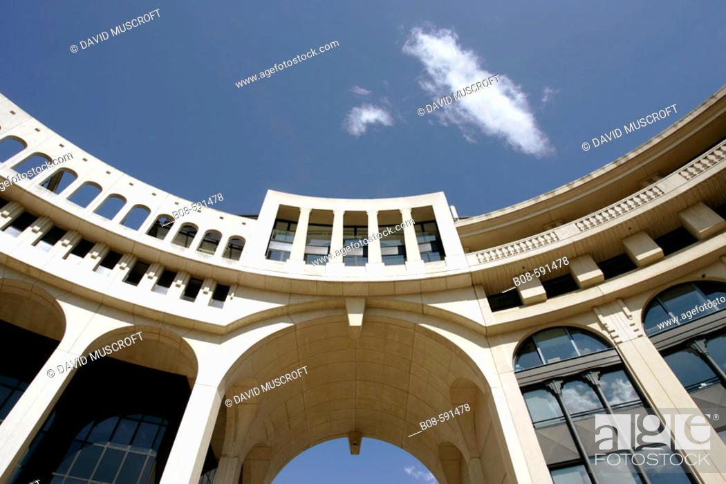 Photo de stock: Antigone. Montpellier. France.