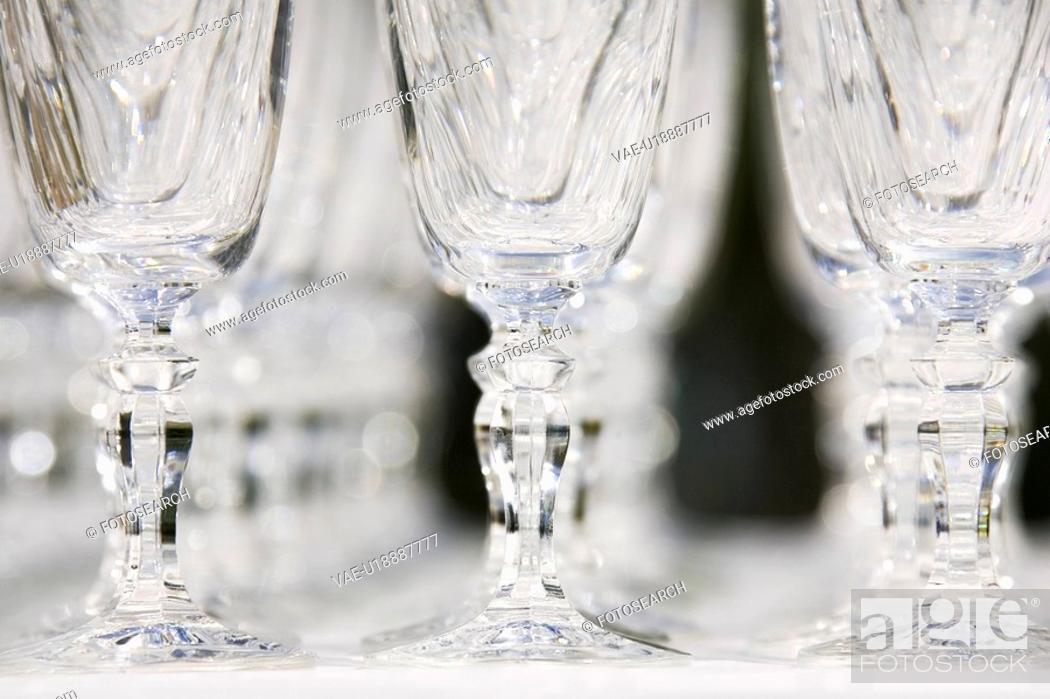 Stock Photo: Glass, Wine Glass, Transparent.