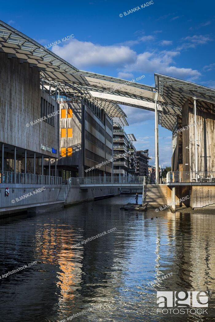Stock Photo: Astrup Fearnley Museum of Modern Art, Oslo, Norway.