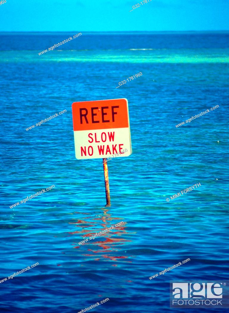 Stock Photo: sign for boats.