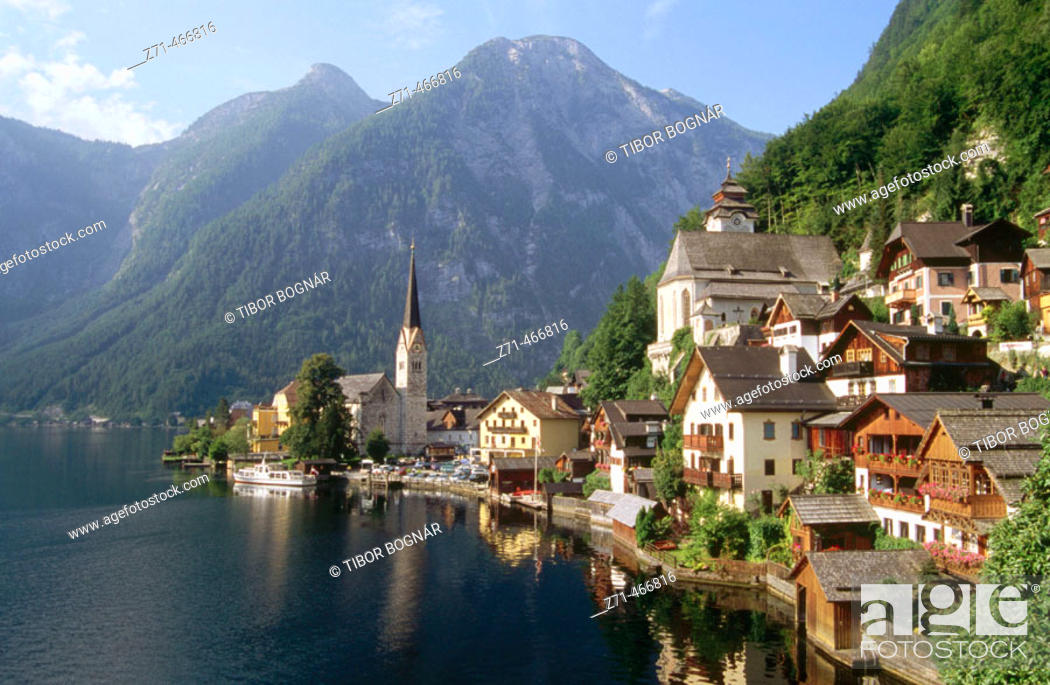 Stock Photo: Hallstartt. Salkhammergut. Austria.
