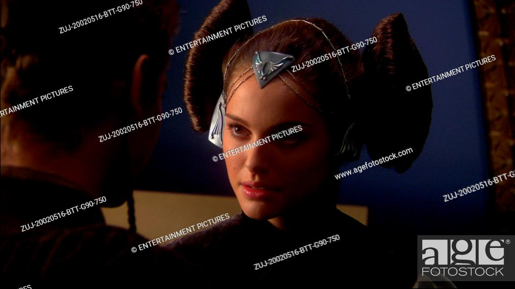 Stock Photo: RELEASE DATE: May 16, 2002. MOVIE TITLE: Star Wars: Episode II-Attack of the Clones. STUDIO: Lucasfilm. PLOT: Ten years after the 'Phantom Menace' threatened.