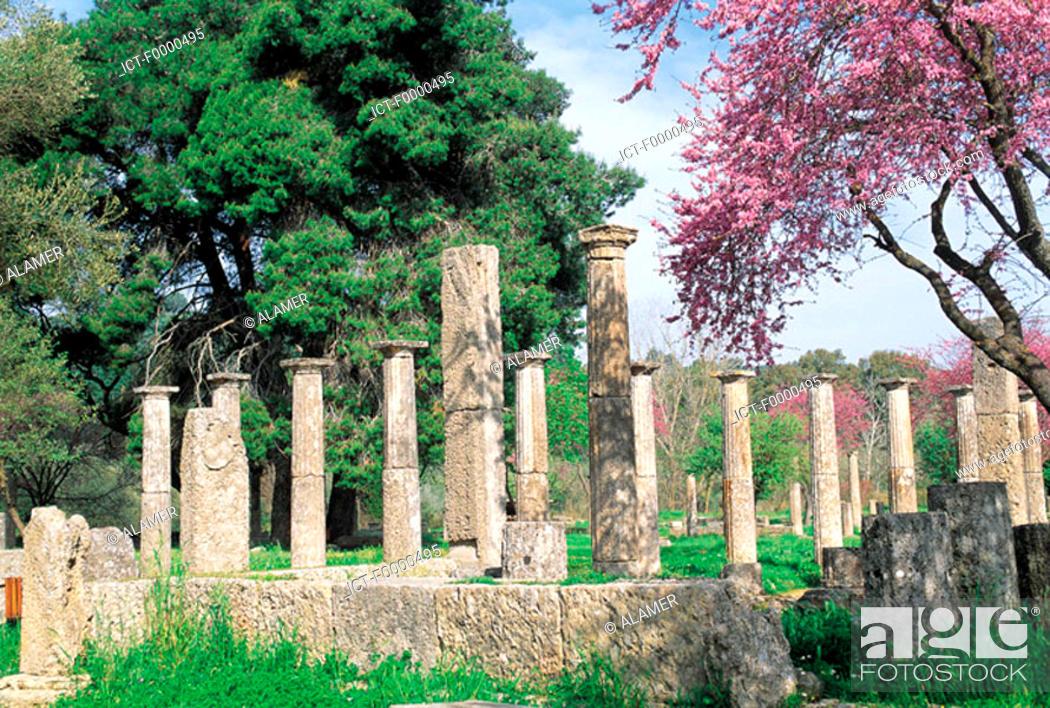 Stock Photo: Peloponnese, Olympia.