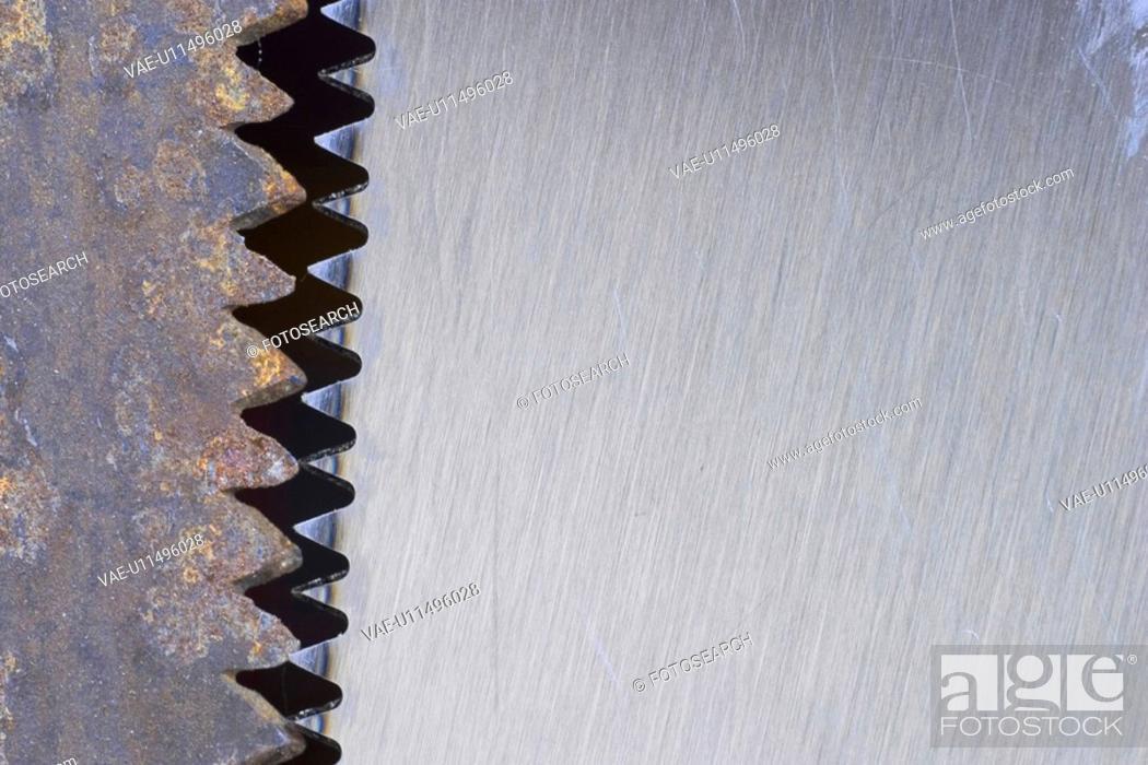 Stock Photo: tool, blade, saw, still, utility, metallic.