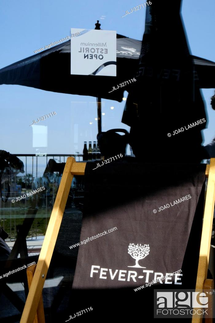 Stock Photo: Millennium Estoril Open 2019, Press conference at Nova SBE University, in Carcavelos, Cascais, Portugal.