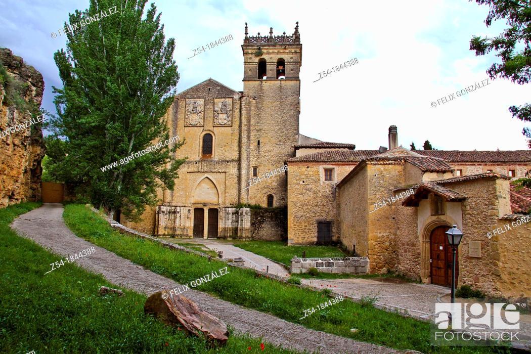 Stock Photo: Parrel Monastery, Segovia, Castile and Leon, Spain.
