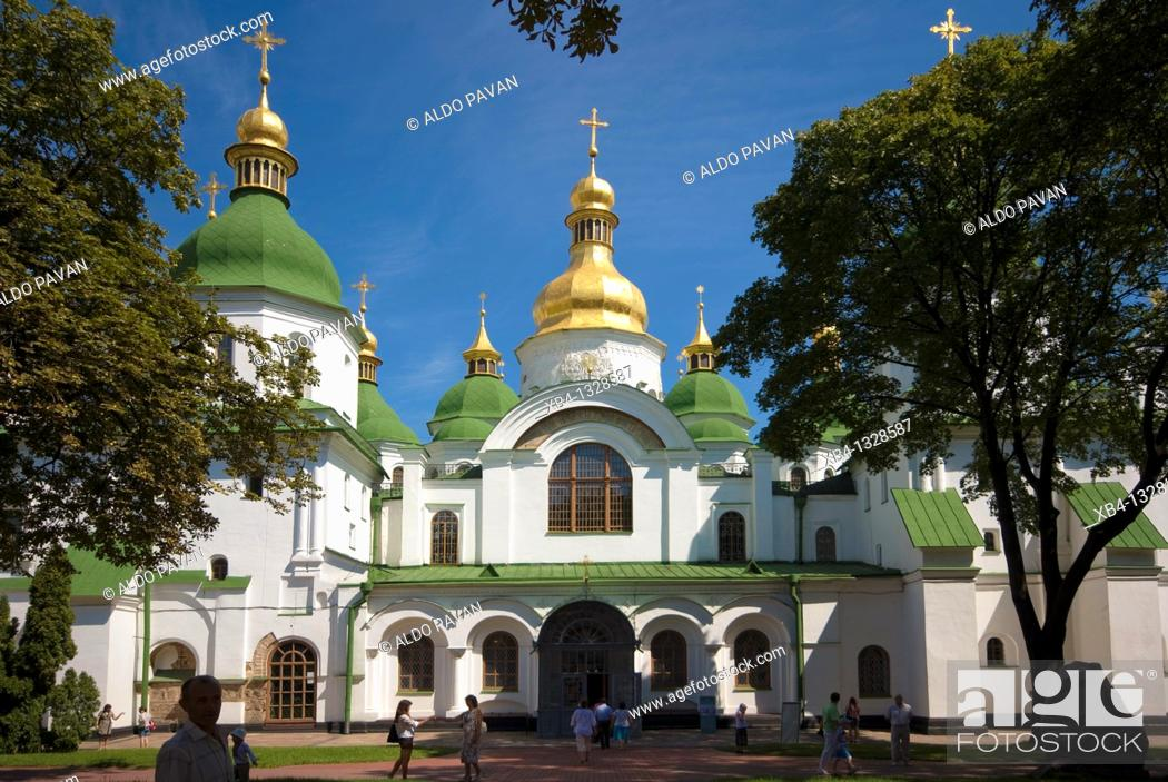 Stock Photo: Ukraine, Kiev, Saint Sophia Cathedral.